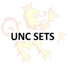 UNC Sets 1999