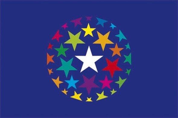 Gekleurde-Euromunten