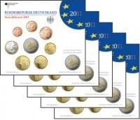 Duitsland BU set 2011 alle 5 letters