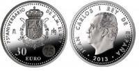 Spanje 30 euro 2013