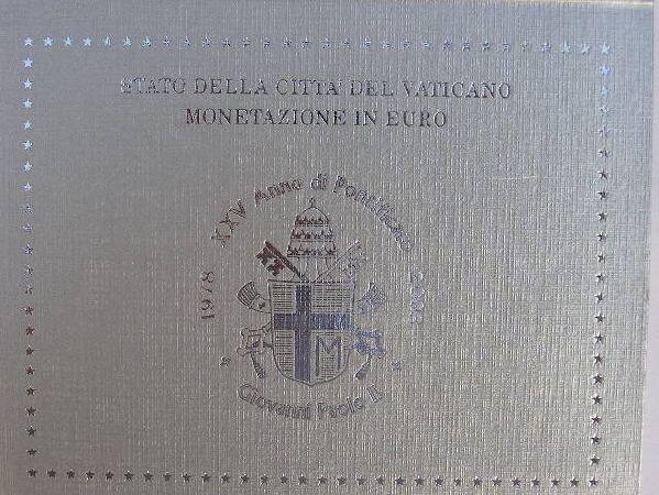 Vaticaanstad BU set 2003