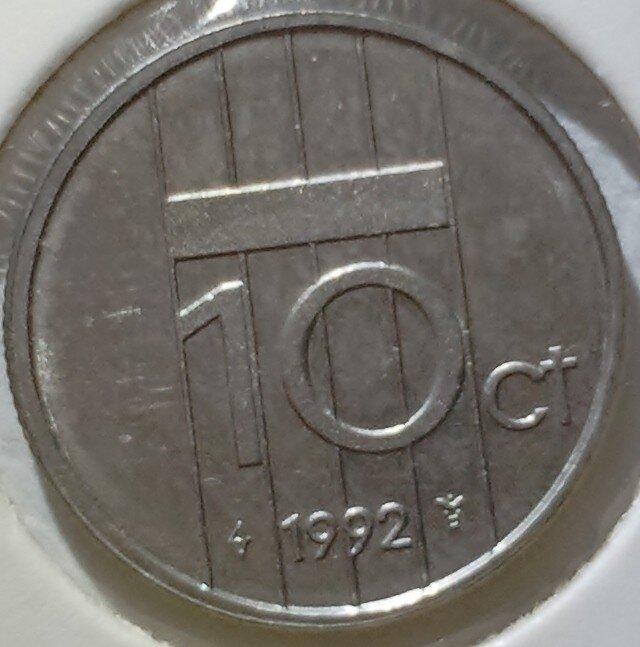 10 Cent 1992, UNC