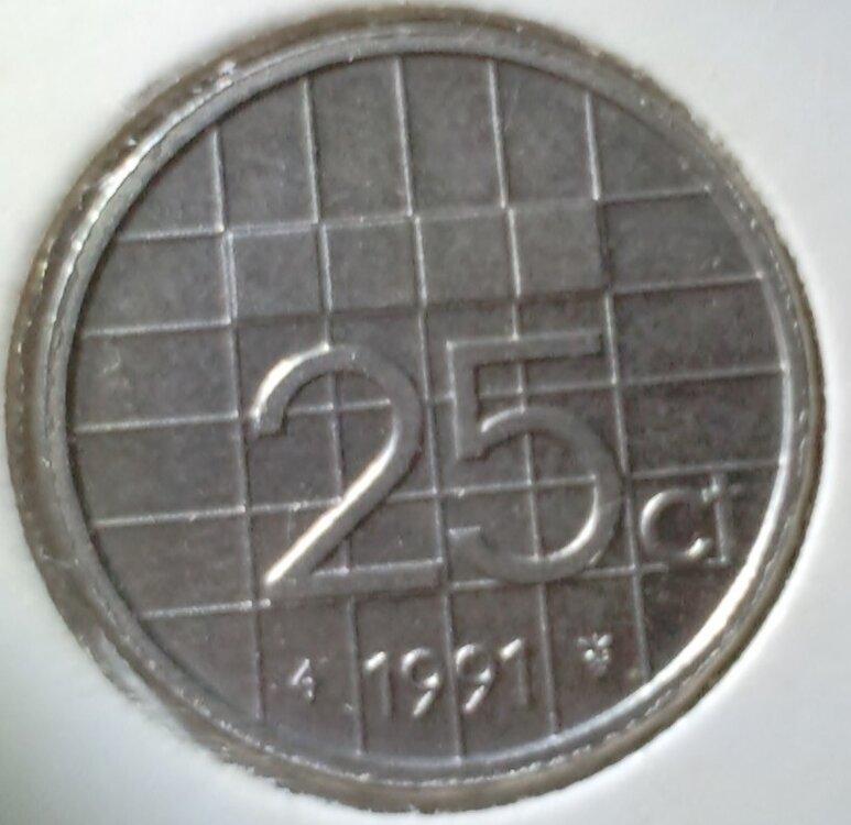 25 Cent 1991, UNC