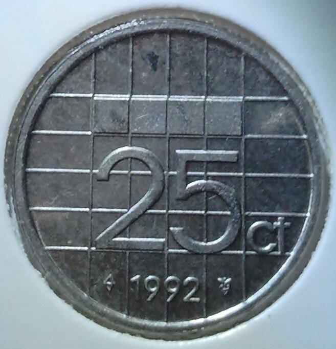 25 Cent 1992, UNC