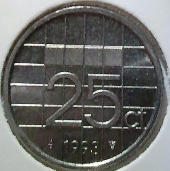 25 Cent 1993, UNC