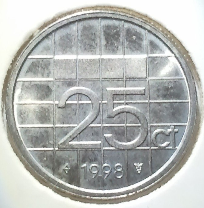 25 Cent 1998, UNC