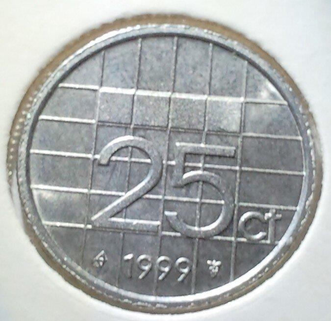 25 Cent 1999, UNC