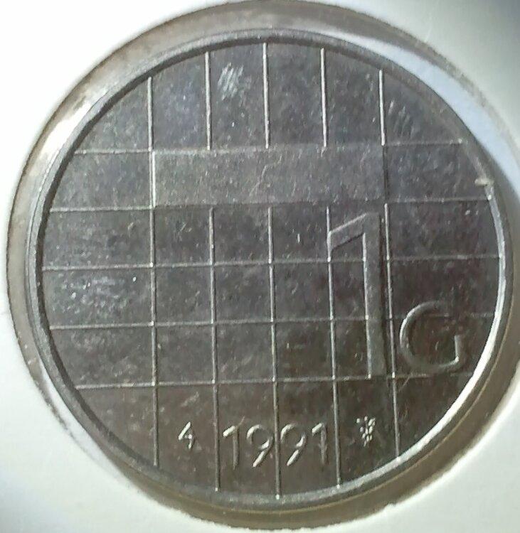 1 Gulden 1991, UNC