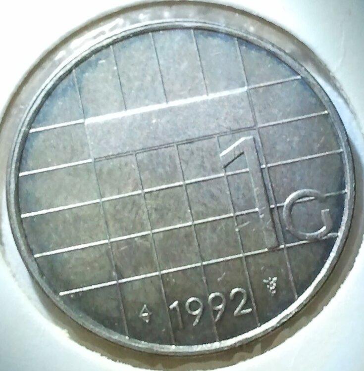 1 Gulden 1992, UNC