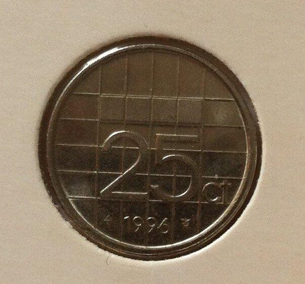 25 Cent 1996, UNC