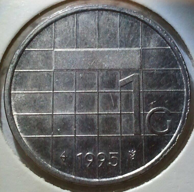 1 Gulden 1995, UNC