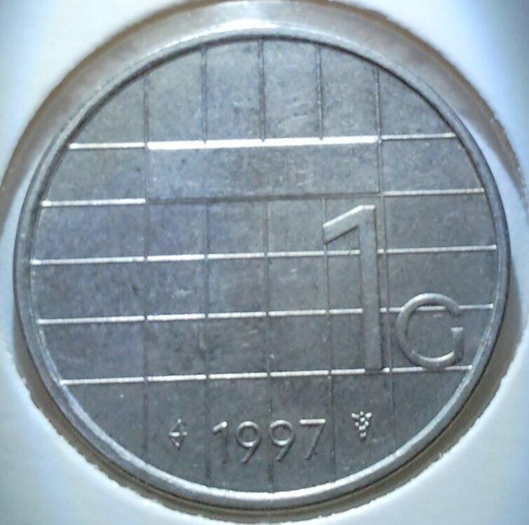 1 Gulden 1997, UNC