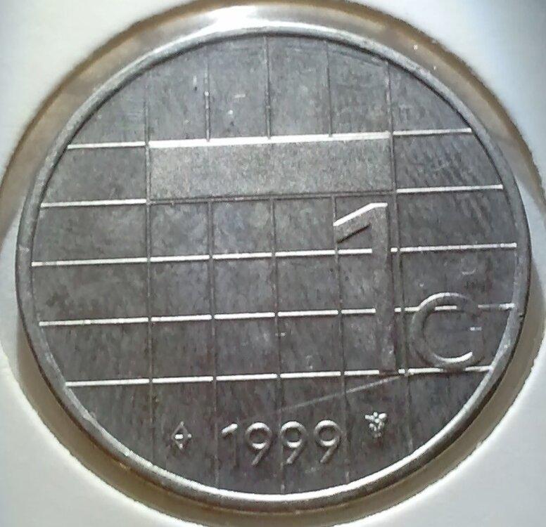 1 Gulden 1999, UNC