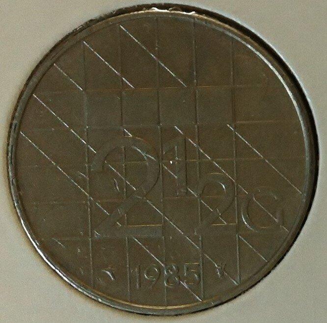 2½ Gulden 1985, UNC,
