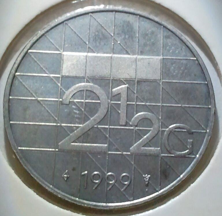 Beatrix 2½ Gulden 1999, FDC