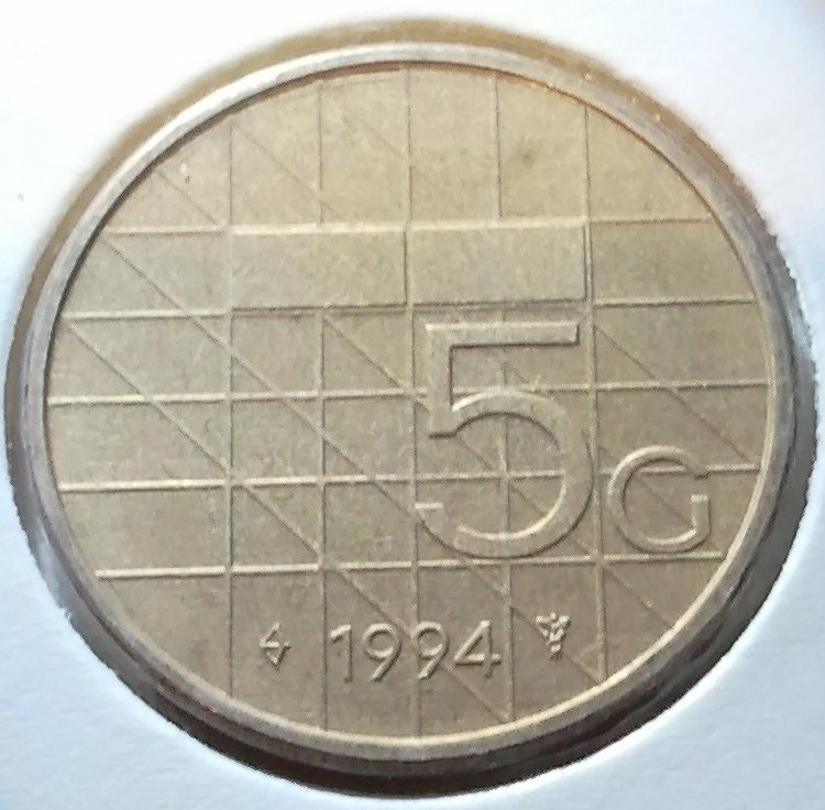Beatrix 5 Gulden 1994, FDC