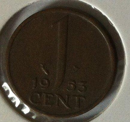1 Cent 1953, UNC