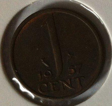 1 Cent 1957, UNC