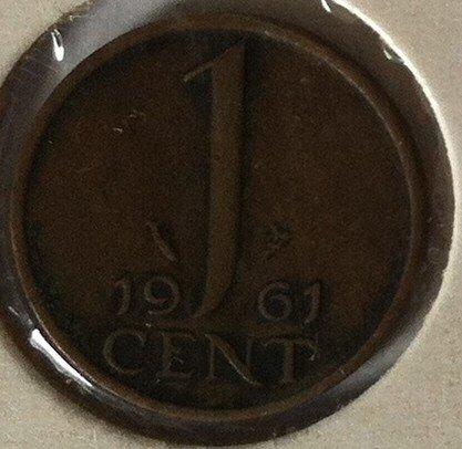 1 Cent 1961, UNC