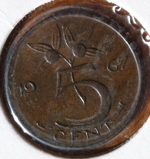 5 Cent 1967b, UNC