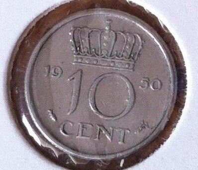 10 Cent 1950, UNC