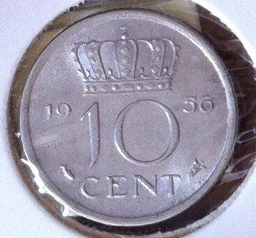 10 Cent 1956, UNC