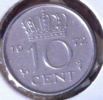 10 Cent 1972, UNC