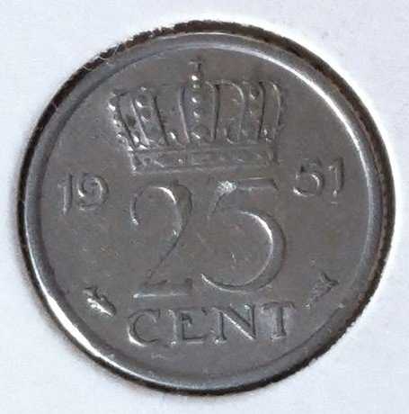 25 Cent 1951, UNC