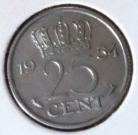 25 Cent 1954, UNC