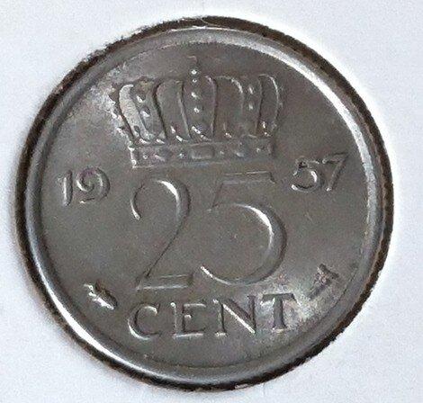 25 Cent 1957, UNC