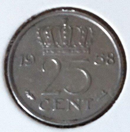 25 Cent 1958, UNC