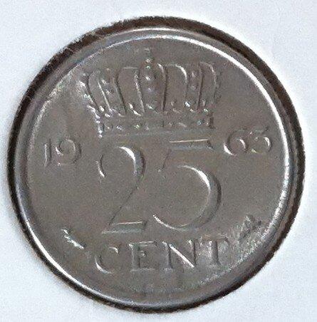 25 Cent 1963, UNC