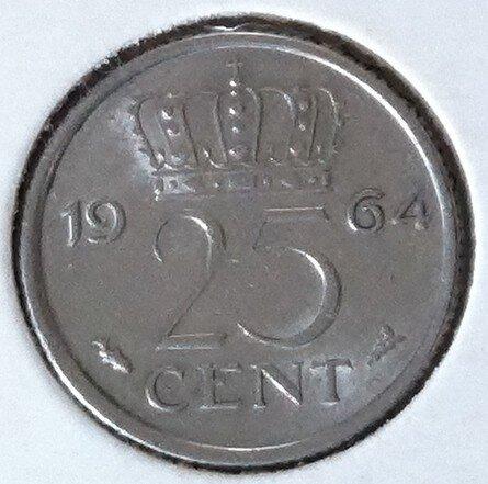 25 Cent 1964, UNC