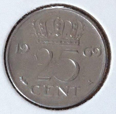 25 Cent 1969, Vis, UNC