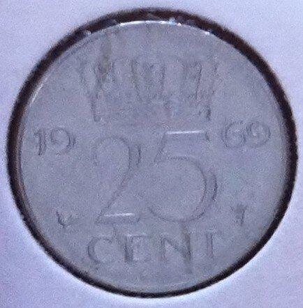 25 Cent 1969, Haan, UNC