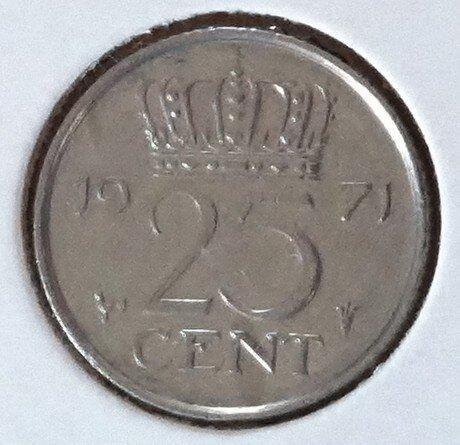 25 Cent 1971, UNC