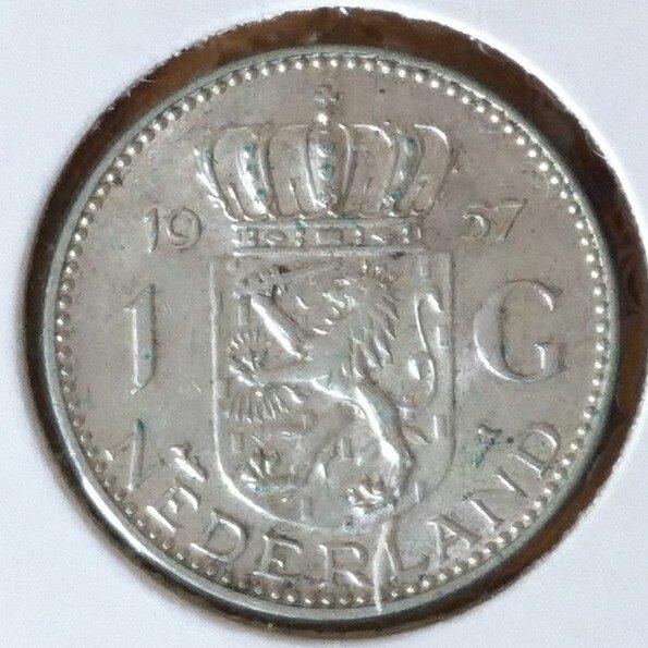 1 Gulden 1957, UNC