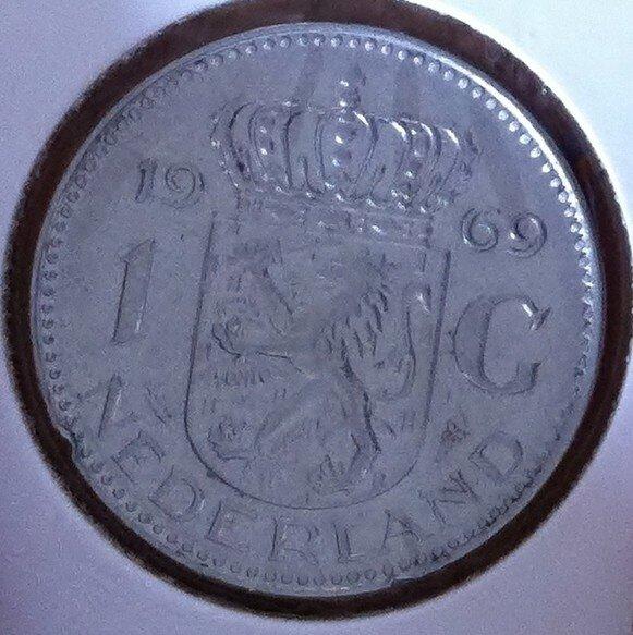 1 Gulden 1969, Vis, UNC