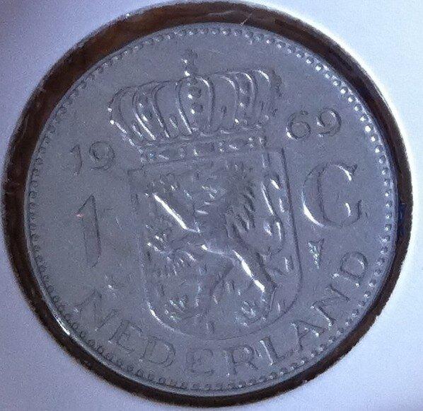 1 Gulden 1969, Haan, UNC