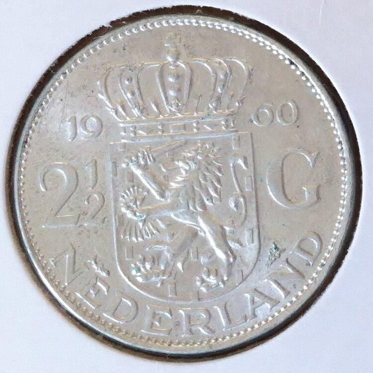 2½ Gulden 1960, UNC