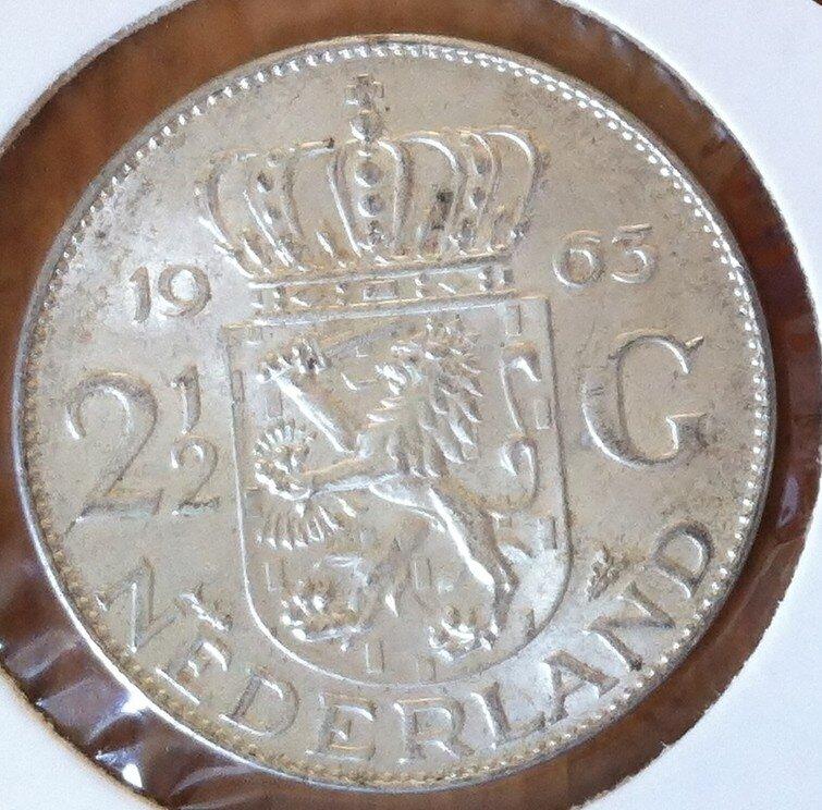 2½ Gulden 1963, UNC