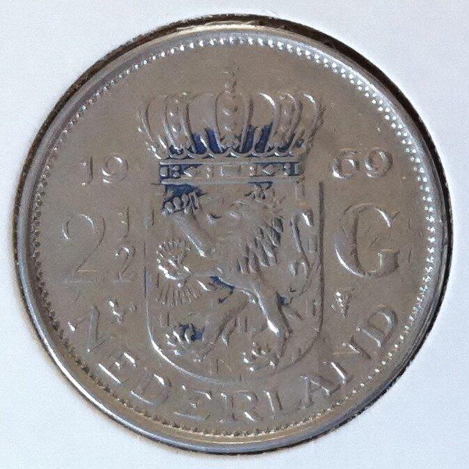 2½ Gulden 1969, Haan, UNC