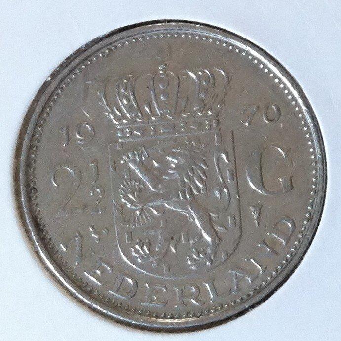 2½ Gulden 1970, UNC