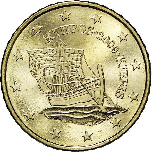 Cyprus 50 Cent Jaartal te selecteren