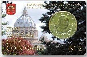 Vaticaanstad 2011 Coincard No 2
