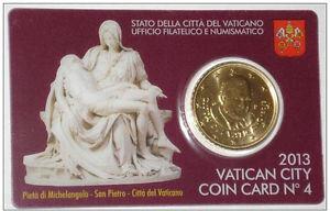 Vaticaanstad 2013 Coincard No 4