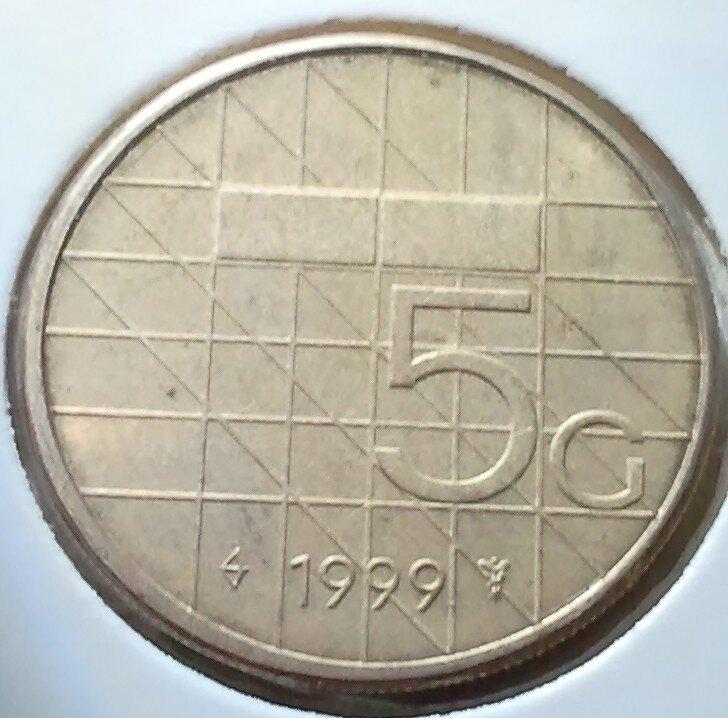 5 Gulden 1999, FDC