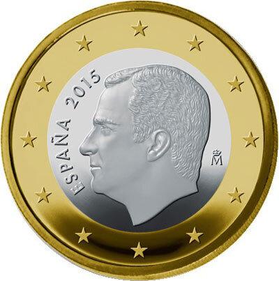 Spanje 1 euro Jaartal selecteren