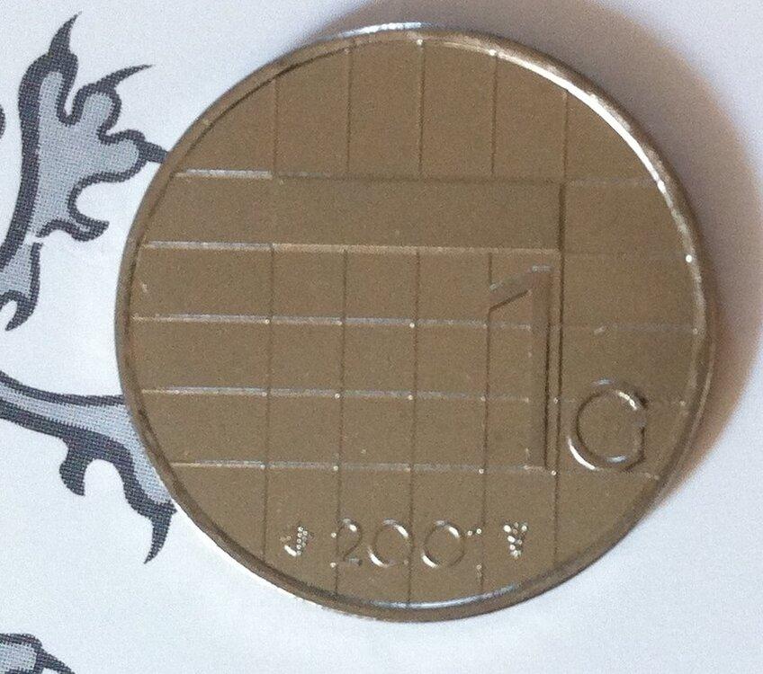 Beatrix 1 Gulden 2001, FDC