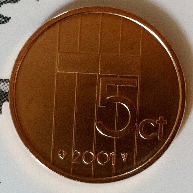 Beatrix 5 Cent 2001, FDC